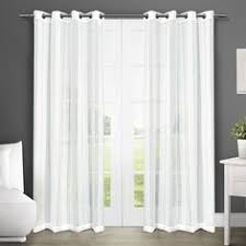 Sheer Curtains Grommet Top Jcp Jcpenneyhome Serene Sheer Grommet Top Sheer Curtain Panel