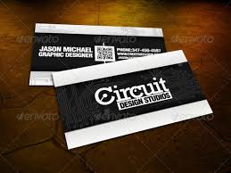 Circuit Board Business Card 25 Qr Code Business Card Templates Web U0026 Graphic Design Bashooka