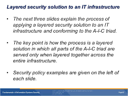 fundamentals of information systems security ppt video online