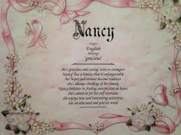 names for home decor shops nancy first name meaning art print name