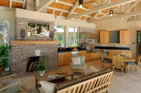 outside kitchen designs pictures kitchen cabinets beautiful outdoor kitchen design with brown