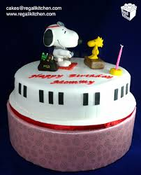 snoopy cakes snoopy cake for doctor aileen