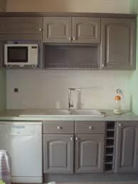 cuisine ceruse gris cuisine blanc ceruse impressionnant beautiful cuisine gris et blanc