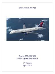 b757 manual takeoff aerospace