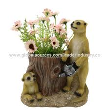 china new arrival polyresin meerkats lawn ornament from quanzhou