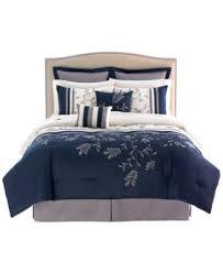 King Comforter Sets Blue Camden 8 Piece California King Comforter Set Bed In A Bag Bed