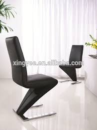 Genuine Leather Dining Room Chairs by Modern Dining Table And Chair Furniture Black Italian Genuine