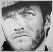clint eastwood in the good the bad and the ugly by archimea on