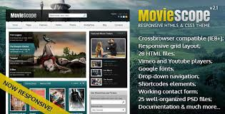 download layout html5 css3 download s2 moviescope html5 css3 portal template themede