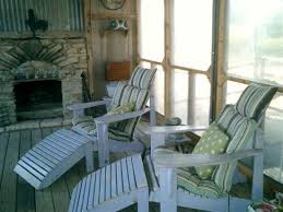 screened porch with fireplace and marshmallows picture of