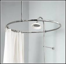 Ceiling Mount For Shower Curtain Rail Marvellous Design Wall Mounted Shower Curtain Rod 25 Best Ideas