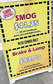 brake and light certificate baja auto parts 2 complete auto repair smog brake and l