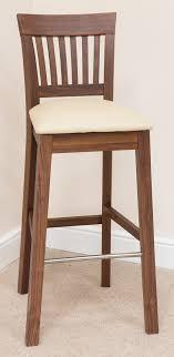 walnut breakfast bar table bar stool 345 dark walnut cream leather bar stools bar stool