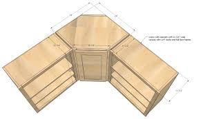 Ana White Kitchen Cabinets by Ana White Wall Kitchen Corner Cabinet Diy Projectsikea Depth