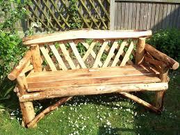 Rustic Outdoor Bench Plans 4 Seater Oak Garden Bench Rustic Garden Benches Sharpening Rustic