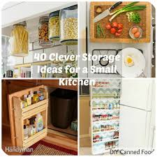 kitchen storage shelves ideas 40 clever storage ideas for a small kitchen