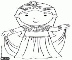 imagenes egipcias para imprimir juegos de antigüedad antiguas civilizaciones para colorear