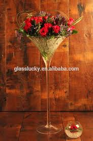 wholesale martini glass vases centerpieces tall martini vases