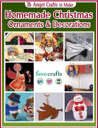 Christmas Ornaments Crafts For Adults by 34 Angel Crafts To Make For Christmas Favecrafts Com