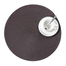 kitchen drying mat round large woven tablemat placemat heat resistant dinnerware pad