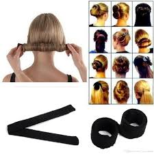 snap hair black women hairagami hair bun updo fold wrap snap magic styling