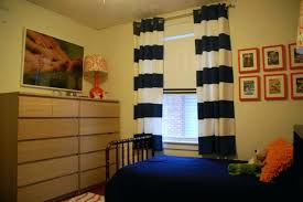 Bedroom Curtain Rods Decorating Bedroom Curtain Rods Blue Striped Curtains Bedroom Inspirations