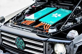 tesla inside hood battery technology inhabitat green design innovation