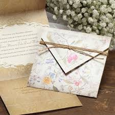 vintage invitations floral rustic vintage wedding invitations flamingo
