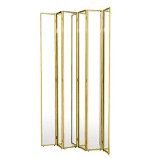 decorating tri fold full length mirror mirrored room divider