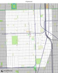Map Of Hyde Park Chicago by Map Of Building Projects Properties And Businesses In Englewood