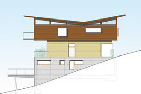 slope house plans slope house plan design house style ideas