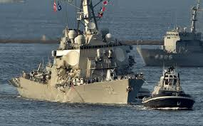 Flag Carrier Of Japan How The Us Navy U0027s Fleet Has Been On A Collision Course For Years