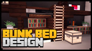 Minecraft How To Make A Bunk Bed Minecraft Xbox How To Make A Bunk Bed Tutorial Simple Easy
