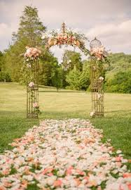 wedding arches great ideas for weddings floral aisle with a