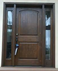Exterior Door With Side Lights Glass Front Door With Sidelights Glass Front Doors S S S 3 4 Glass