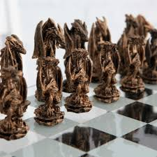 unusual chess sets decorating medieval chess sets cool gothic chess for all as
