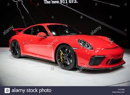 new porsche 911 gt3 geneva switzerland march 7 2017 new 2018 porsche 911 gt3