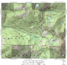 China Camp Trail Map by July 2017 Hike Mt Shasta