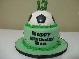 16th birthday cakes for boys simple soccer cake inspired by