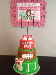 football baby shower football baby shower football guest book that each guest signed