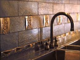 Stainless Steel Backsplash Kitchen by Kitchen Backsplash Tile Peel N Stick Backsplash Kitchen Tile