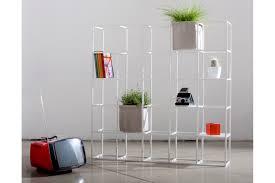 scaffale divisorio ipot scaffale verde modulare e multifunzione arredamente
