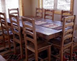 Wood Dining Room Table Sets Dining Room Furniture Etsy