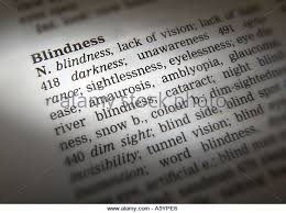 Blind Side Definition Word Blindness Stock Photos U0026 Word Blindness Stock Images Alamy