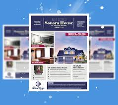 free real estate flyer templates high quality template