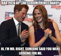 Pick Up Line Panda Meme - pick up lines from prince harry