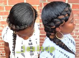 black hair styles for for side frence braids 55 of the most stunning styles of the goddess braid