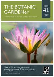 wollongong botanic gardens the botanic gardener issue 41 march 2015 by bganz issuu