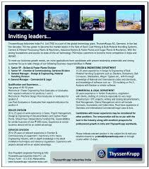 good resume for accounts manager job in chakan midc jobs in thyssenkrupp industries india pvt ltd vacancies in