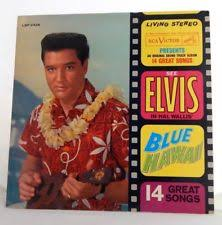 hawaii photo album elvis blue hawaii album ebay